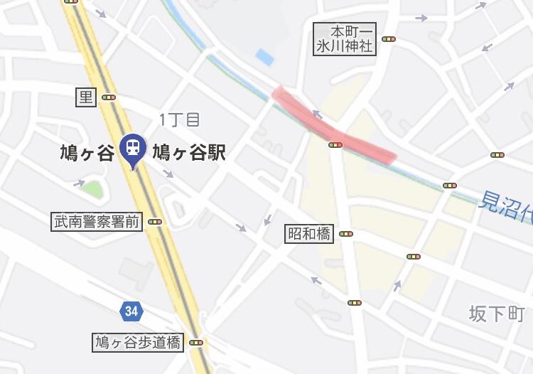 見沼代用水路ライトアップ_map